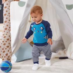 Baby-Jungen-Set in niedlichem Design, 2-teilig