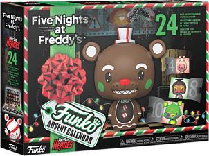 FUNKO Calendrier de l'Avent 2021 - Five Nights at Freddy's - Figurine de collection (Multicolore)