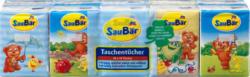 SauBär Taschentücher 4-lagig 10 x 10 Tücher Pocket