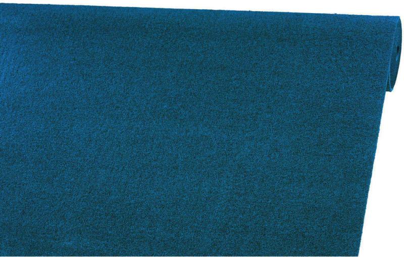 Teppichboden Lazio-heather Petrol B/s: Ca. 400x1,1 Cm