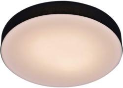 Pocoline Deckenleuchte Weiß Schwarz Kunststoff Eisen H/d: Ca. 7x52 Cm