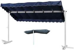 Standmarkisenset Grasekamp Blau