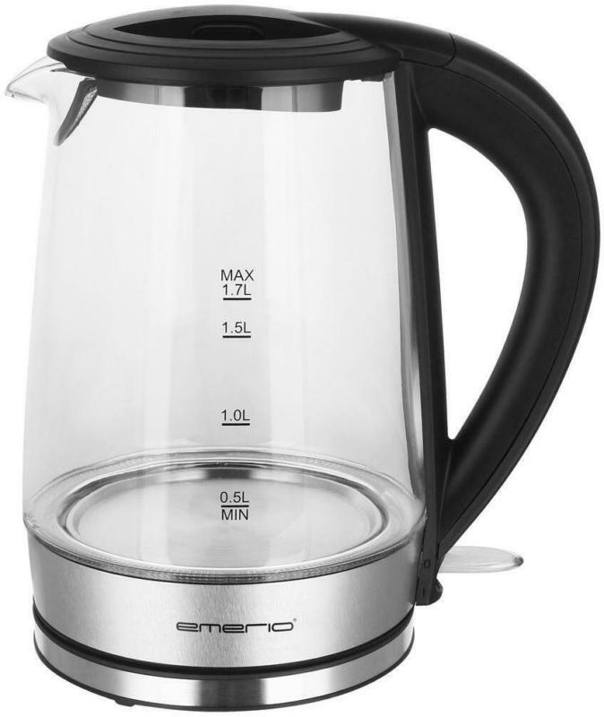 Emerio Glas-wasserkocher Wk-123132.1 B/h/l: Ca. 16x25x22 Cm Ca. 1,7 L