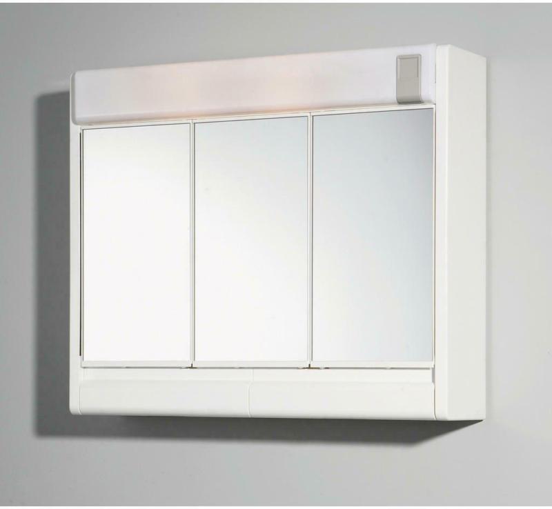 Spiegelschrank Sunny Weiß B/h/t: Ca. 60x51x16 Cm