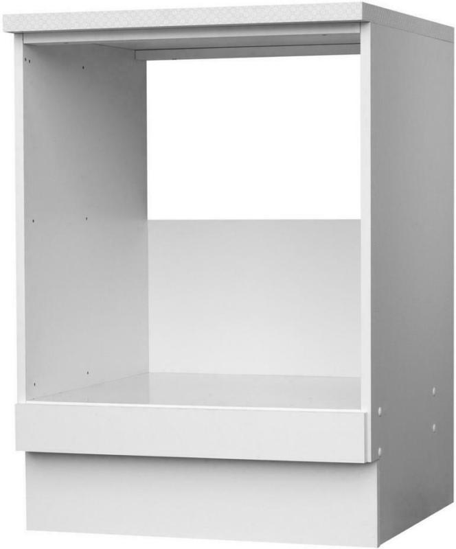 Herdumbauschrank Top Weiß Matt B/h/t: Ca. 60x85x60 Cm