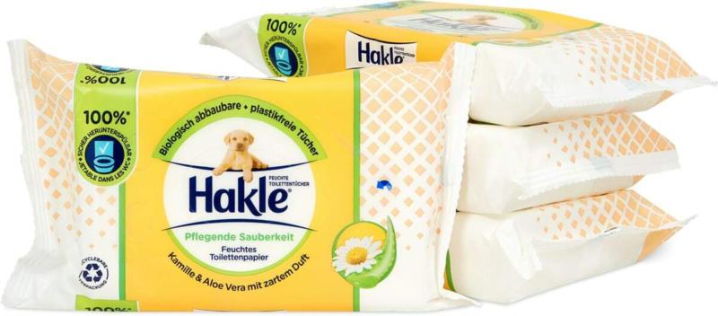 Lingettes imprégnées Hakle, FSC