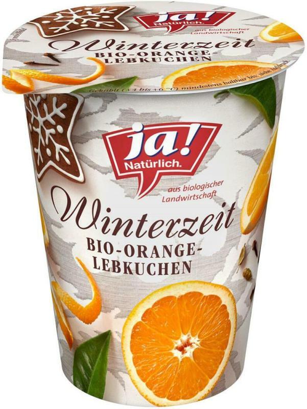 Ja! Natürlich Winterzeit Bio-Orange-Lebkuchen