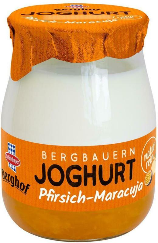 Schärdinger Berghof Pfirsich Maracuja Joghurt