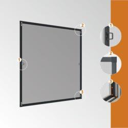 Fliegengitter Is Plus Fenster 100x120cm