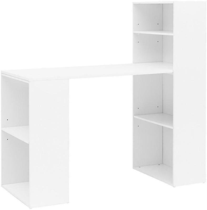 Computertisch B: ca. 120 cm Weiß
