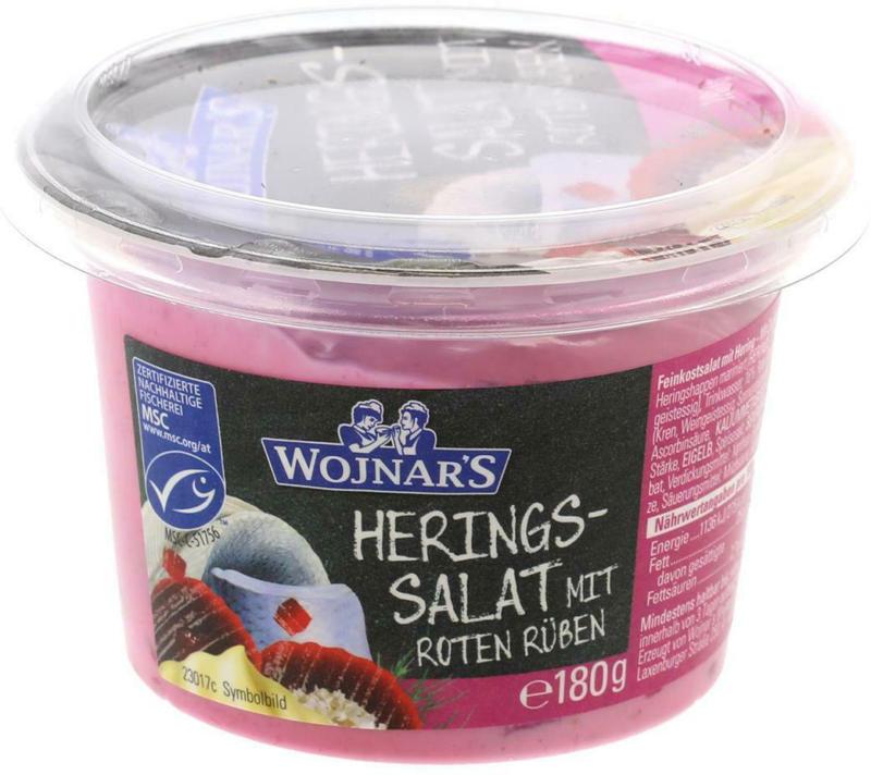 Wojnar Heringssalat mit roten Rüben