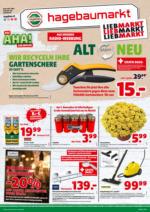 Hagebau Lieb Markt Flugblatt - gültig bis 30.10.