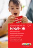 Zur BabyOne-Card anmelden und Vorteile sichern!