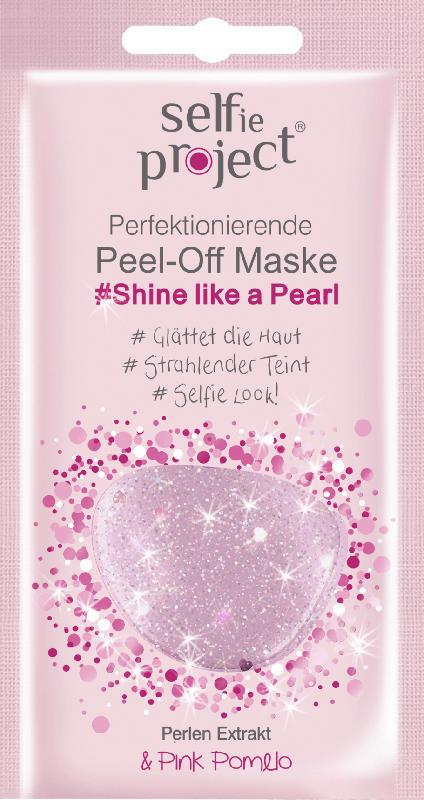 Selfie Project Maske Peel-Off Galaxy Shine like a Pearl