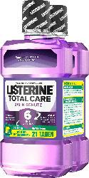 Listerine Total Care Zahnschutz Duo (2x600 ml)