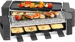 MediaMarkt TRISA 7617.4245 - Piastra per raclette (Nero)