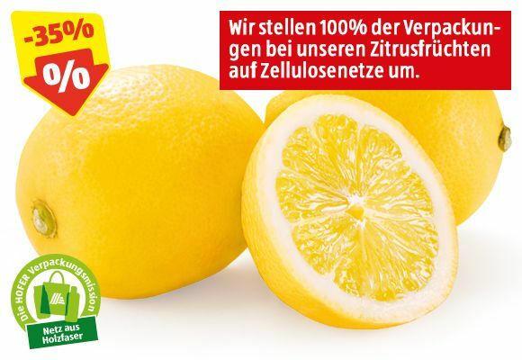 HOFER MARKTPLATZ BIO-Zitronen, 300 g