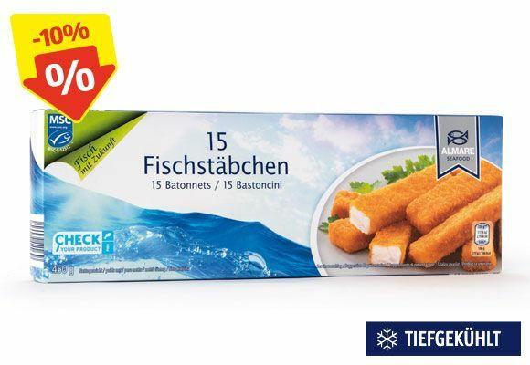 ALMARE SEAFOOD MSC Fischstäbchen