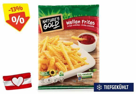 NATURE'S GOLD Wellen Frittes