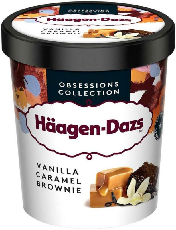 Häagen-Dazs Vanilla Caramel Brownie