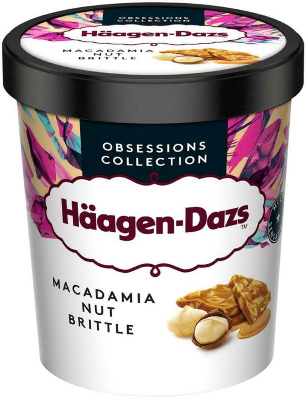 Häagen-Dazs Macadamia Nut Brittle