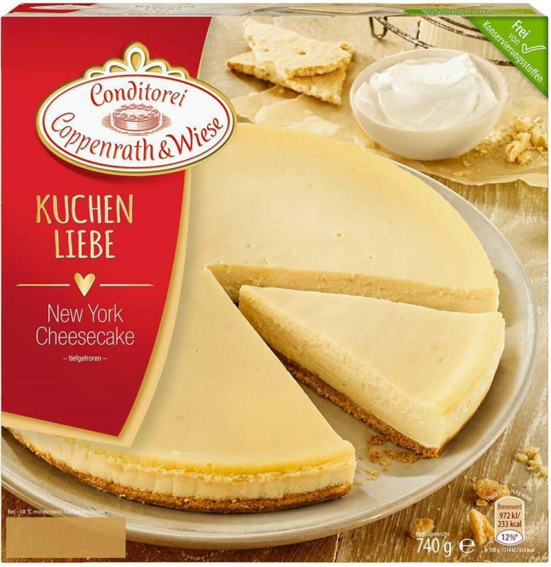 Coppenrath & Wiese Kuchenliebe Cheesecake