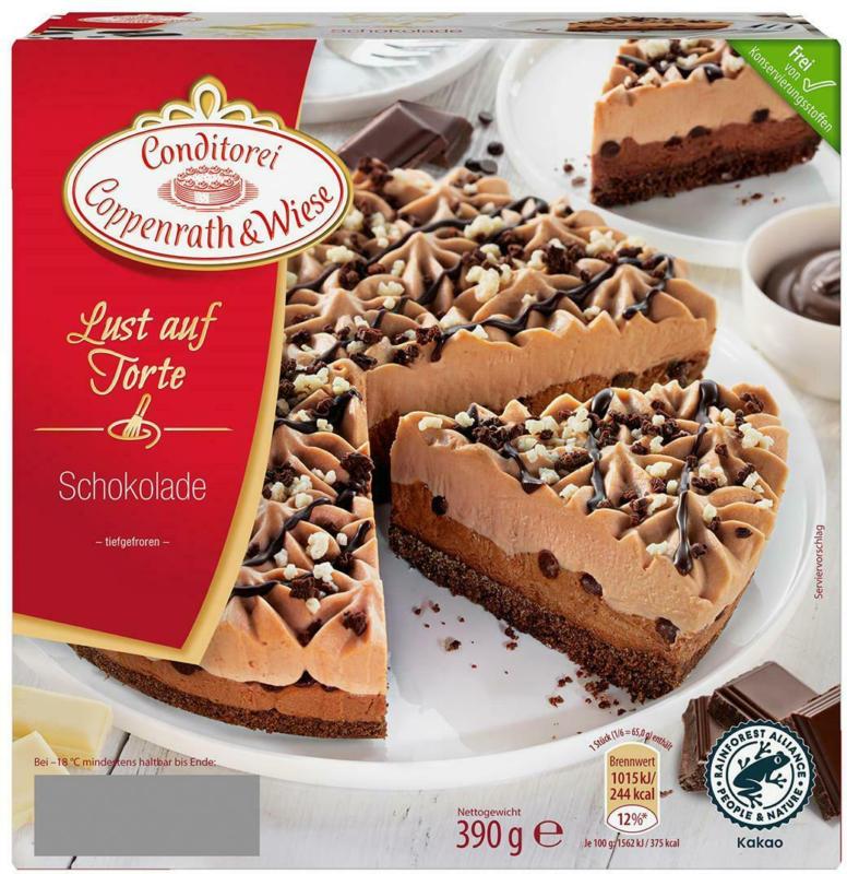 Coppenrath & Wiese Lust Auf Torte Schokolade
