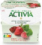 SPAR Danone Activia Null Erdbeer - Himbeer