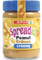 SPAR Erdnussbutter Creamy / Crunchy