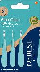 dm-drogerie markt Dr. Best Interdentalbürsten GreenClean 0,6 mm ISO 3 - bis 31.10.2021