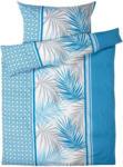OTTO'S Parure de lit en satin avec design de feuilles tendance -  (Prix de la plus petite taille)