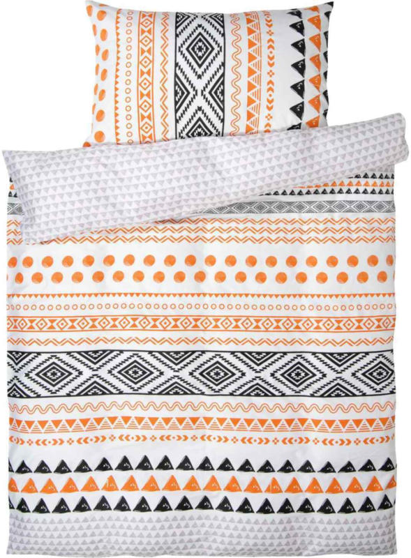 Parure de lit en satin avec divers motifs -  (Prix de la plus petite taille)