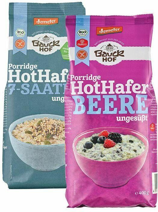 "Bio-Frühstücksbrei ""Hot Hafer"""