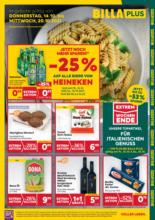 BILLA PLUS Flugblatt Niederösterreich