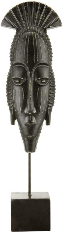 Skulptur Ayla aus Eisen in Schwarz