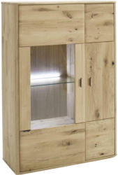 Highboard ohne Beleuchtung, 96/140/38 cm