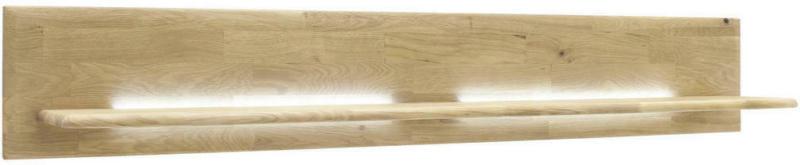 Wandboard ohne Beleuchtung, in 150/24/25 cm Eichefarben