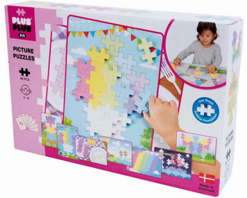 60 Bausteine BIG Puzzle