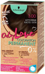 Only Love Col 3.00 Kaffeebraun -