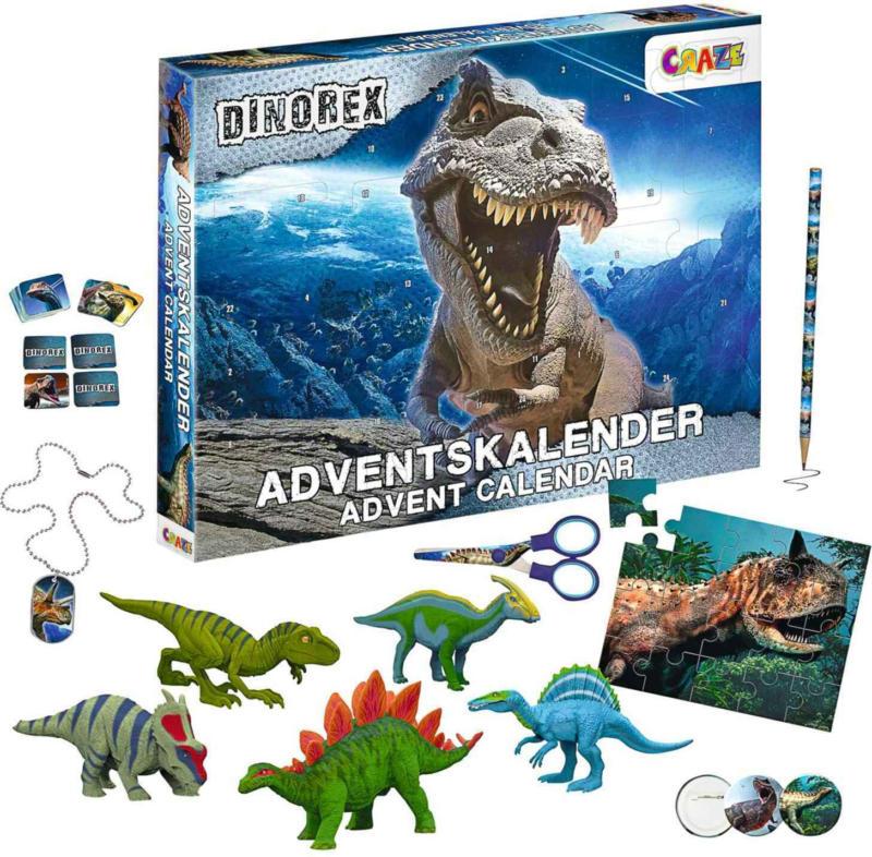 Adventskalender Dinorex -
