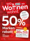 XXXLutz Flugblatt - Markenrabatt