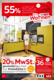 XXXLutz Flugblatt - Einbauküchen