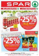 SPAR Flugblatt Wien, Niederösterreich & Burgenland