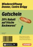 Denner Wiedereröffnung: 20% auf Backwaren! - dal 18.10.2021