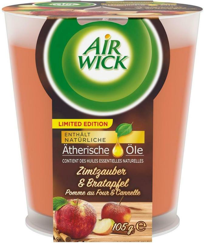Air Wick Wohlfühl Duftkerze Zimtzauber & Bratapfel