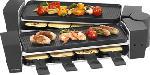 MediaMarkt TRISA 7617.4245 Raclette & brunch - Appareil à raclette (Noir)