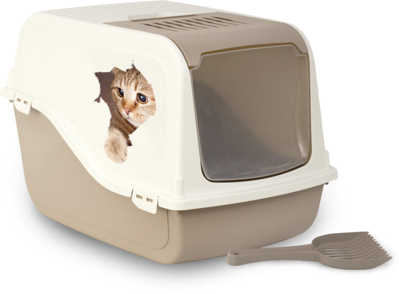 MP Bergamo Toilette pour chat Ariel Decal