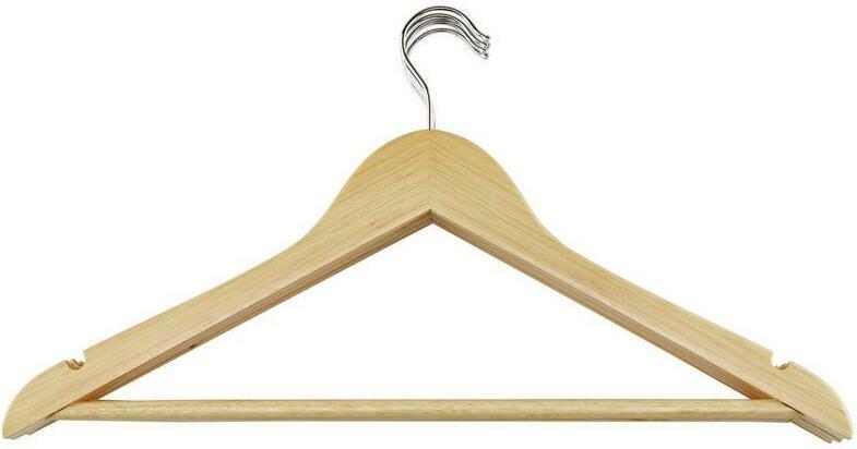 Kleiderbügel aus Holz Finn 5er-Set