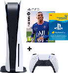 MediaMarkt Pack PlayStation 5 + FIFA 22 + Pack PlayStation Plus (12 mois)