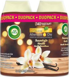 Air Wick Pure Recharge Freshmatic Max Spray Automatique Étoiles à la Vanille 2 x 250 ml -